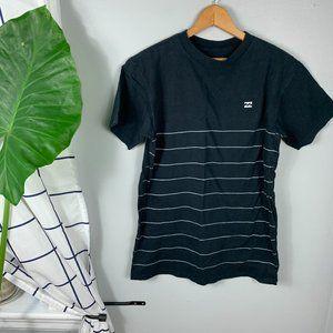 Billabong Crew-Neck Stripe T-Shirt Short Sleeves
